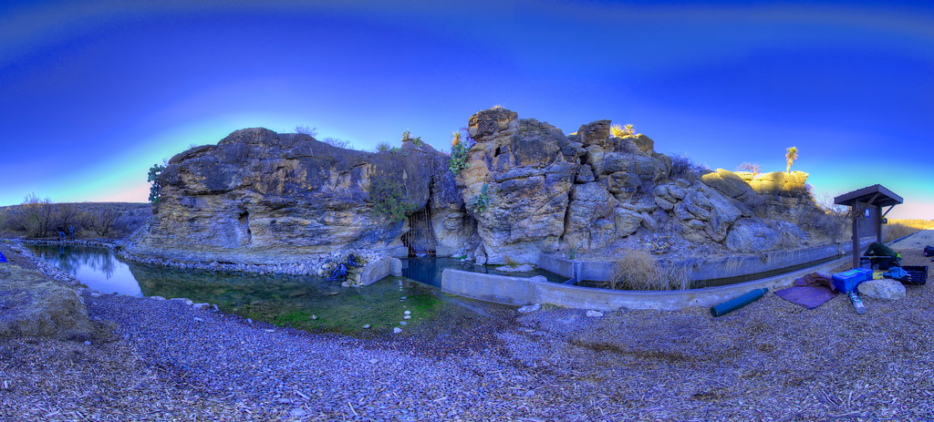 Phantom Spring Cave HDR image during a late afternoon sun.