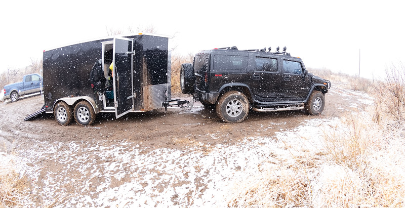 The first dive expedition with my new shiny dive trailer.