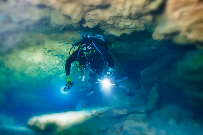 The Main Tunnel, Madison Blue Springs, Florida