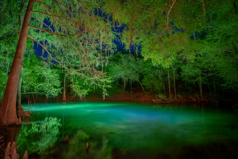 Blue Sink, Madison County, Florida
