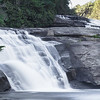 Triple Falls (upper and middle), DuPont Recreational Forest, Near Brevard, NC