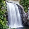 Looking Glass Falls, Pisgah National Forest, Near Brevard, NC