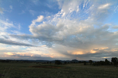 Landscape between Mudgee and Rylstone