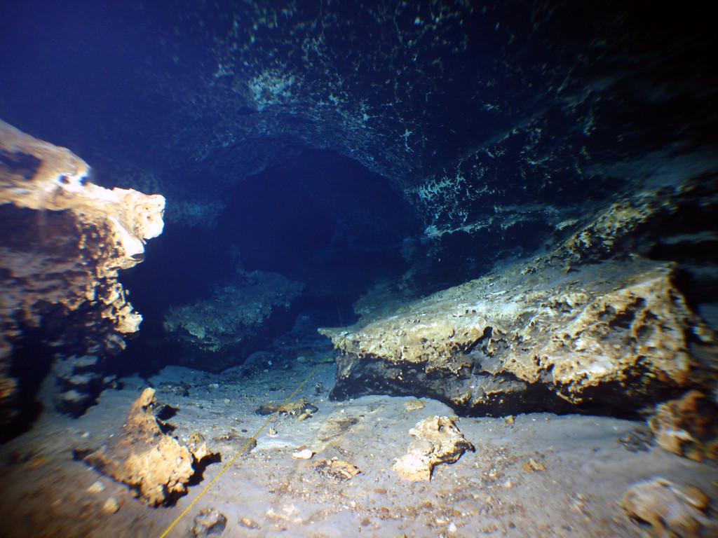 Dark rock in Ginnie