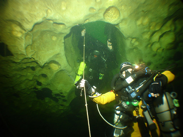 Florida II cave diving  - Oct 06