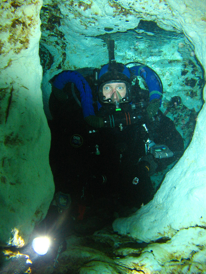 I am a mole and I live in a hole- Ginnie springs [pic courtesy of Agnes  Milowka]