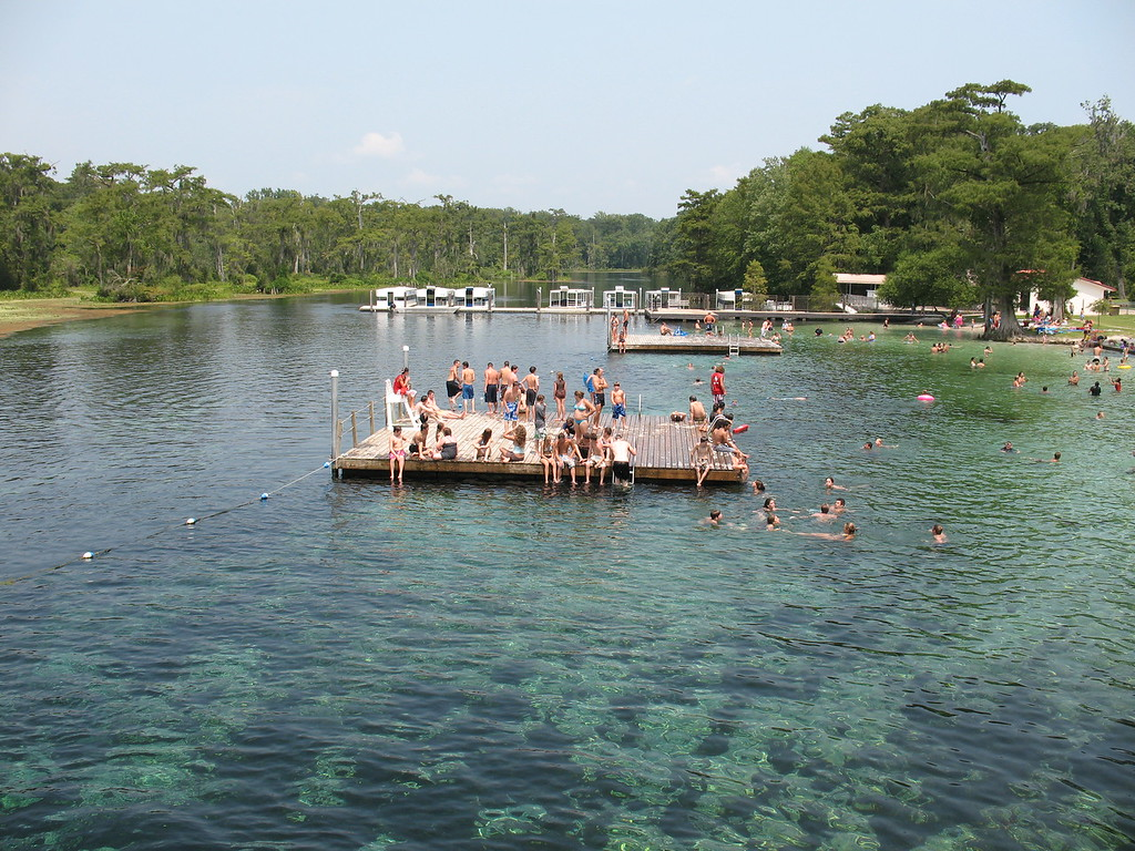 wakulla springs [pic courtesy of Agnes  Milowka]