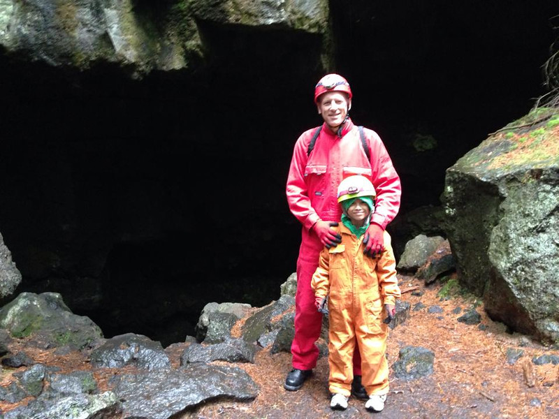 2014 at lava cave - mount fuji