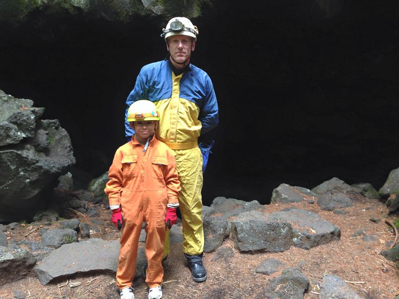 2015 mount fuji lava cave with riane