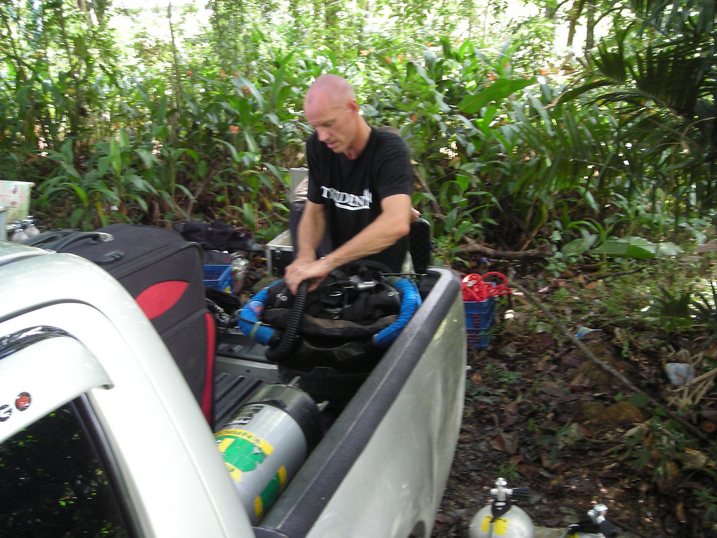 prepping the rebreather