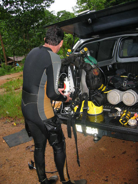 Support diver Bruce