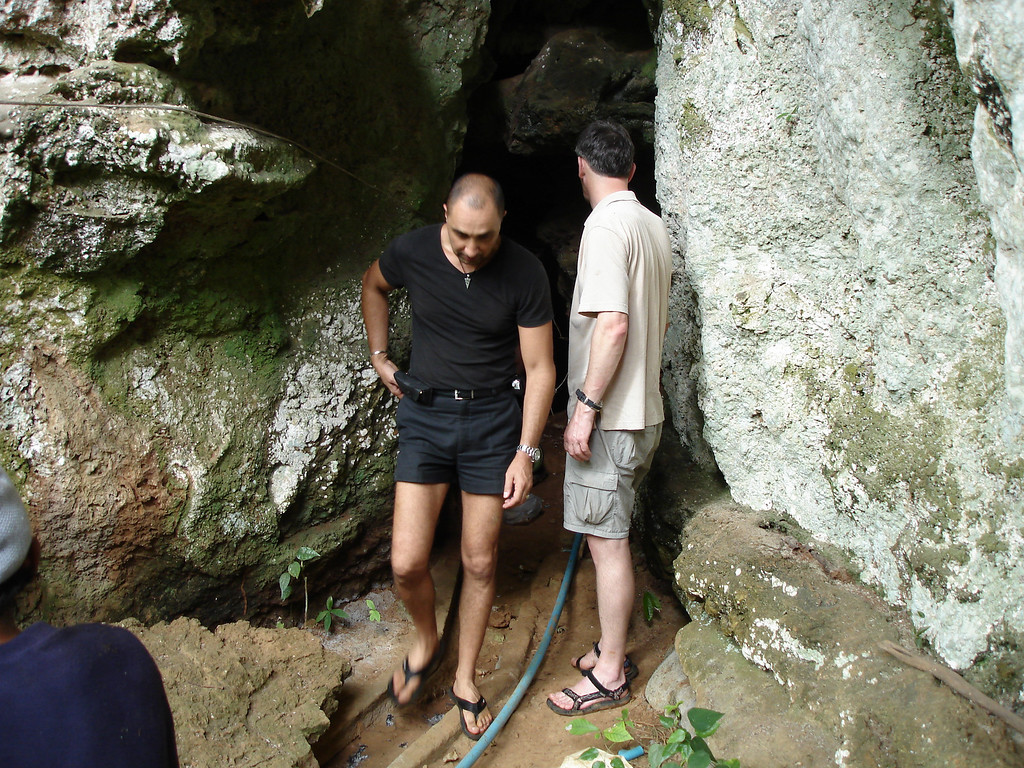 Well its a cave and there is water down there...we need to get some ropes