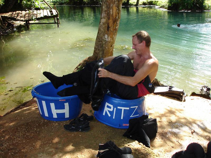 Crush testing the habitats, HILTON and RITZ :-)