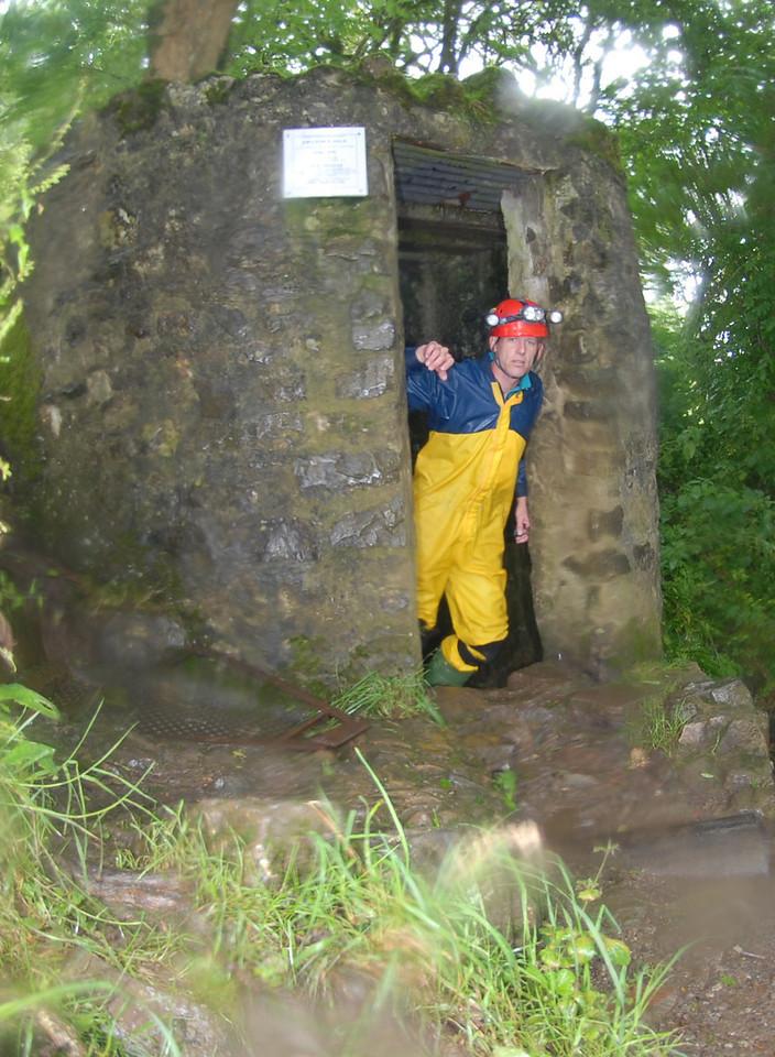 Enterance to Swildons hole