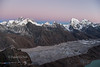 View from Gokyo Ri.
