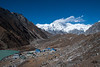 Gokyo, the third lake, and Cho Oyu in the background.