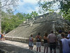 Ball court at Coba.