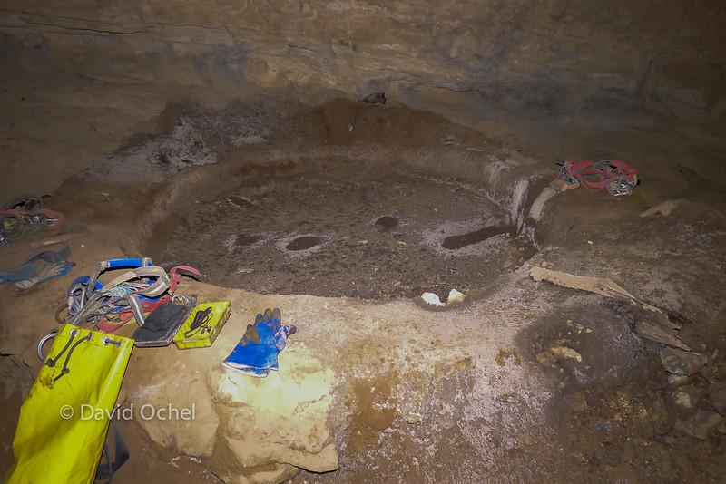 Mining hearth / pit.