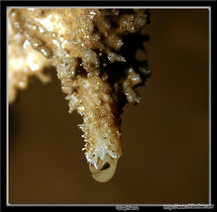Close up in Crystal palace cave