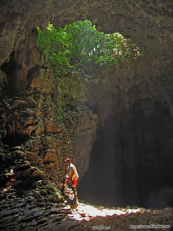 Candelaria lodge and Cave system. Guatemala    Candelaria