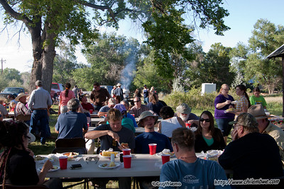 Baker Volunteer firefighters put on a great BBQ
