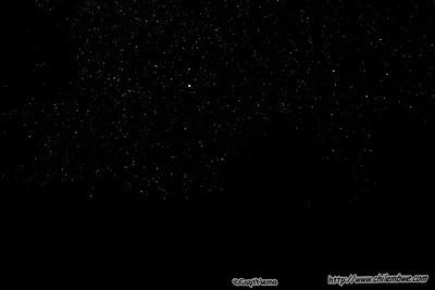 Night Sky, Hickison petroglyph campground