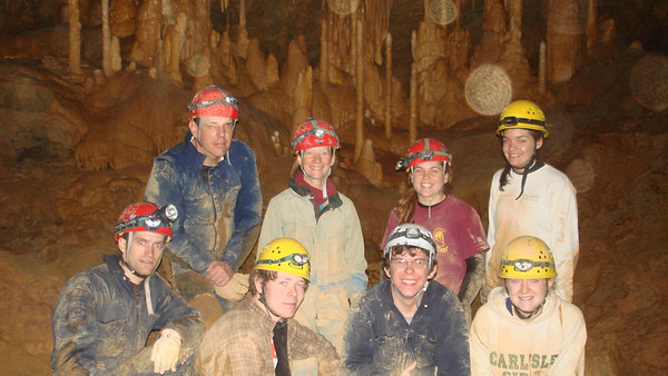 New Section of Rupert Cave 4-5-08