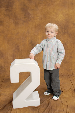Cayden's 2 Year Pictures