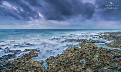 Daybreak at Pollard Bay, Cayman Brac, Cayman Islands