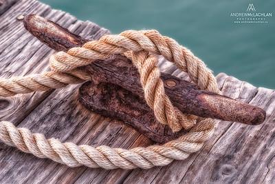 Dock details, Cayman Brac, Cayman Islands