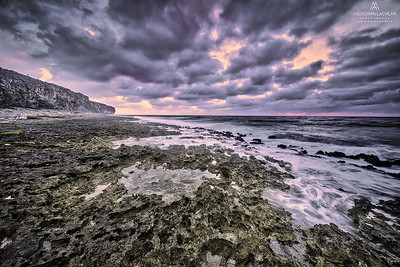 Daybreak at Pollard Bay on Cayman Brac, BWI
