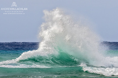 Crashing Waves on Cayman Brac