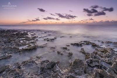 Daybreak on Cayman Brac, British West Indies