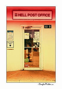 Post Office in HELL Grand Cayman Island