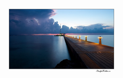 "Sunset Grand Cayman Island ""Rum Point"""