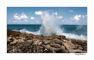 """Blow Holes"" Grand Cayman Island"