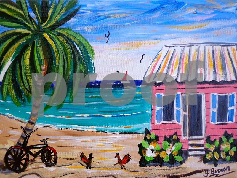 """Pink Beach House with Bike"", Cayman Islands"
