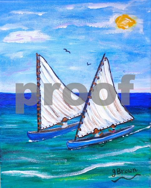 """""""Cat Boats"""", Cayman Islands"""