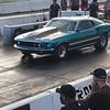 Bob Bartram 69 Mustang test hit