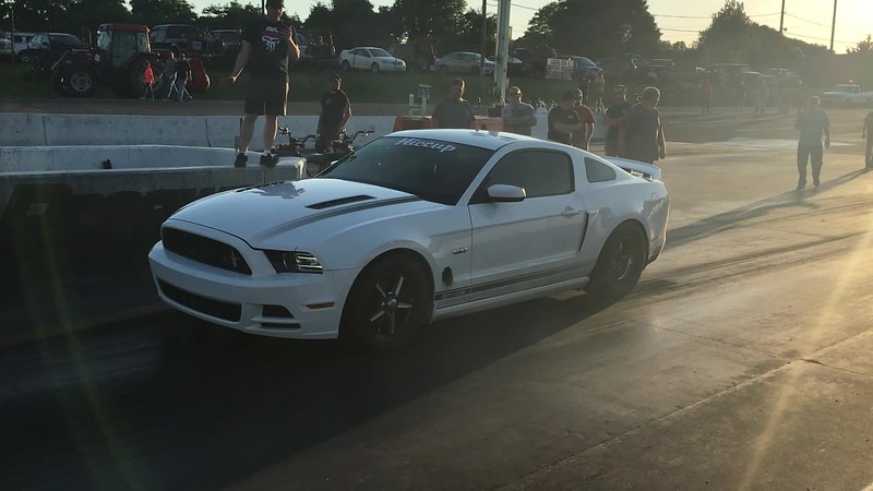 Marcus Thompson Mustang Test Hit Tri State 6-9-17