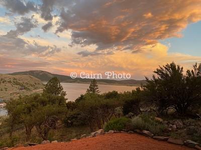 Panguitch Lake Sunset