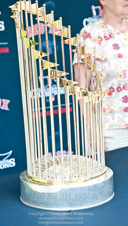 Red Sox World Series Trophies