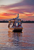 Could you think of a better backdrop for a Christmas Boat Parade - Cedar Key - Photo by Pat Bonish