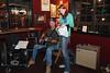 Marina & Matt Singing a Duet at the Black Dog in Cedar Key - Photo by Pat Bonish