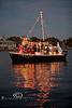 The Grand Marshall of the Cedar Key Boat Parade - Photo by Pat Bonish