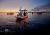 The Low-Key Hideaway's Winning Christmas Boat - Cedar Key Boat Parade - Photo by Pat Bonish