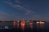 Christmas Spirit Floating over Cedar Key Florida - Photo by Pat Bonish