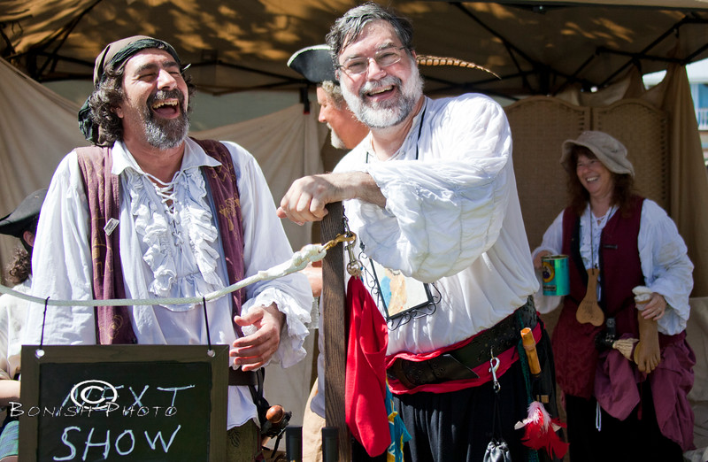 Acme Rogue and Ruffian Recruiters, Ink - Cedar Key Pirate Fest - Photo by Pat Bonish