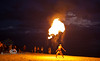 Fireeater Putting on quite the show at the Cedar Key Pirate Fest - Photo by Pat Bonish