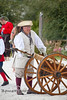 Loading the Canon to ward off the Pirates - Cedar Key Pirate Fest - Photo by Pat Bonish